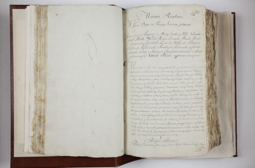 """Netrukus – tarptautinė paroda """"Kad Tėvynė gyvuotų. Lietuva ir Lenkija 1791 m. konstitucijos epochoje"""""""