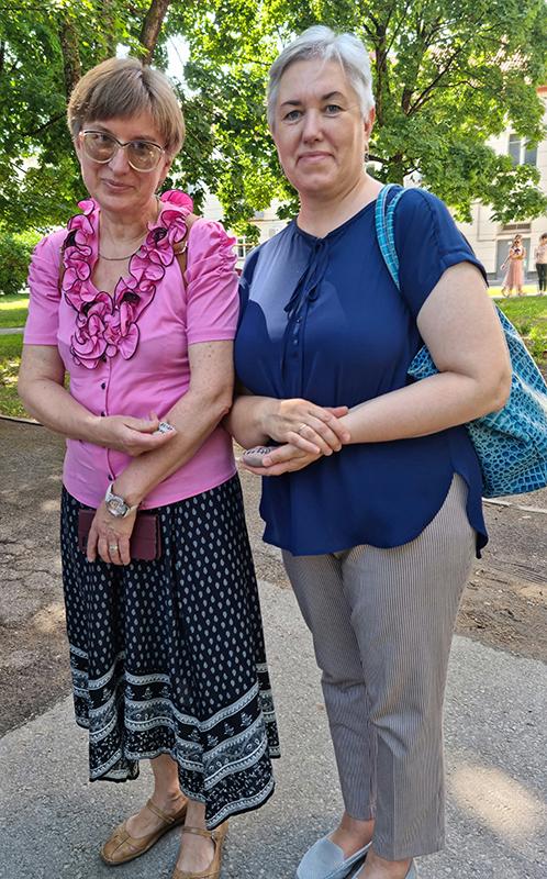 """""""Vaivorykštės""""gimnazijos Tolerancijosugdymocentro vadovė, mokytoja Ilma Agajan."""