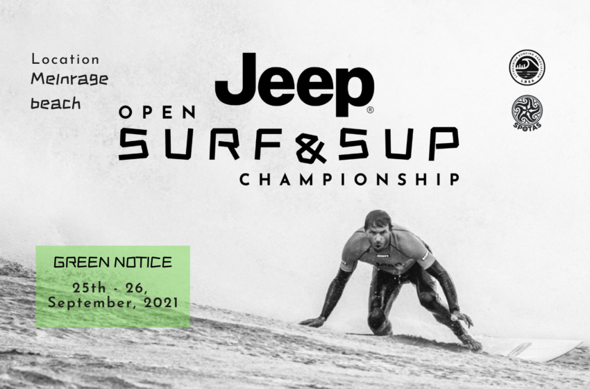 Audringoje Baltijoje – Jeep Open Surf Lietuvos banglenčių čempionatas