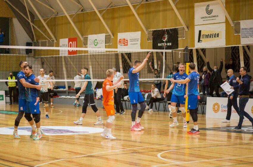 """""""Amber-Arlangos"""" tinklininkai pratęsė pergalių seriją Baltijos Čempionų lygoje"""