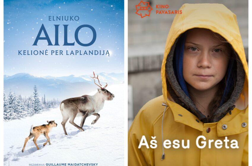 Klimato kaitos savaitės proga – du nemokami kino seansai