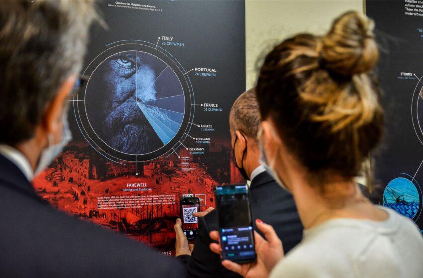 Klaipėdos universitete – paroda apie legendinį Fernando Magelano žygį aplink pasaulį