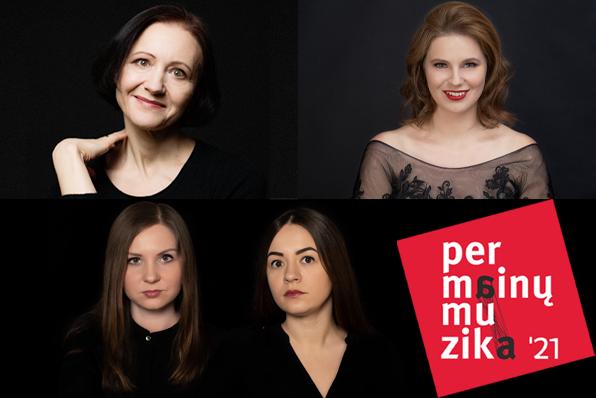 """Šiuolaikinės muzikos festivalyje """"Permainų muzika"""" – teatrališka B. Kutavičiaus kūrinių programa"""