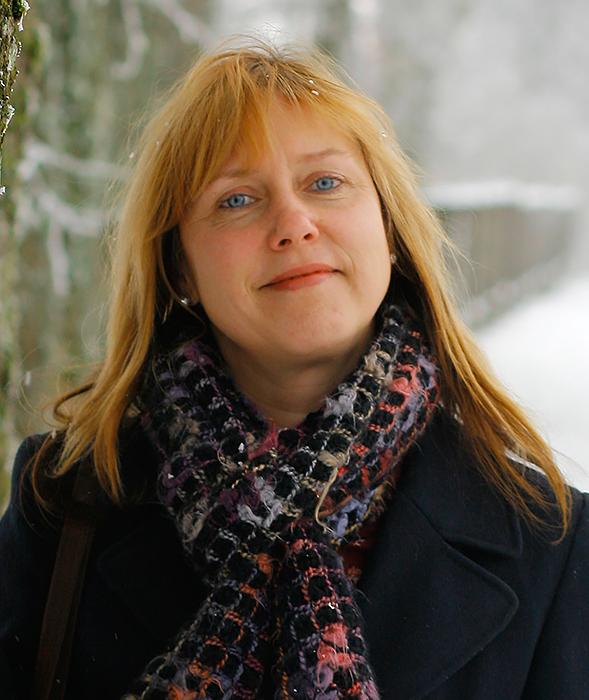 """""""Visgi reikia būti pozityviems, raminti save"""", – akcentavo Lapių kaimo bendruomenės pirmininkė L. Karbauskienė."""