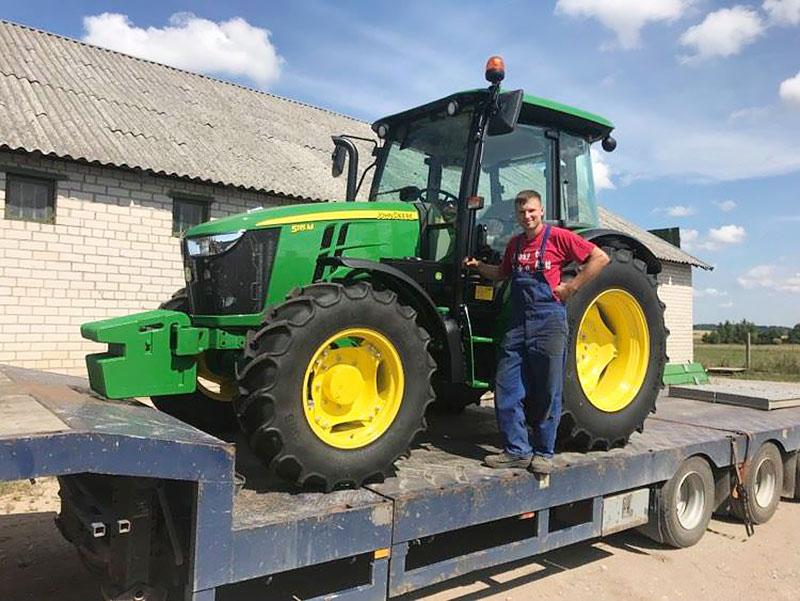Remigijus Preibys nuo vaikystės žinojo, kad bus ūkininkas. Gauta parama labai prisidėjo prie svajonės įgyvendinimo.