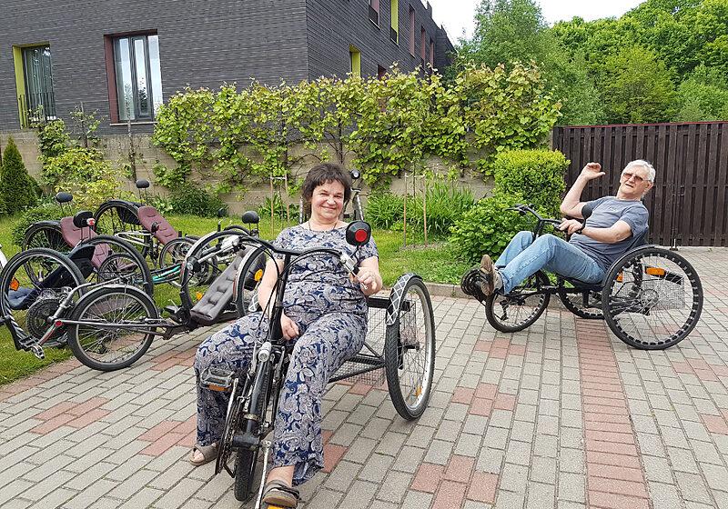 Gargždiškio kūriniai – kanklės ir velomobiliai